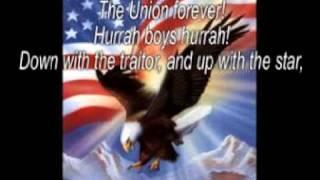 The Battle Cry of Freedom - The Weavers - (Lyrics)