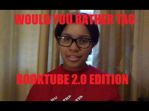 Would You Rather Tag| Booktube Edition 2.0 Video
