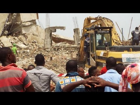 Nigeria: Death toll from building collapse in Lagos rises to 34 (Update)