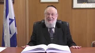 הרב ישראל מאיר לאו - פרשת פנחס - קריטריון הנכון למנהיגות