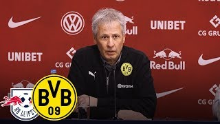 Lattenknaller von Axel Witsel | PK mit Lucien Favre | Rasenballsport Leipzig - BVB 0:1
