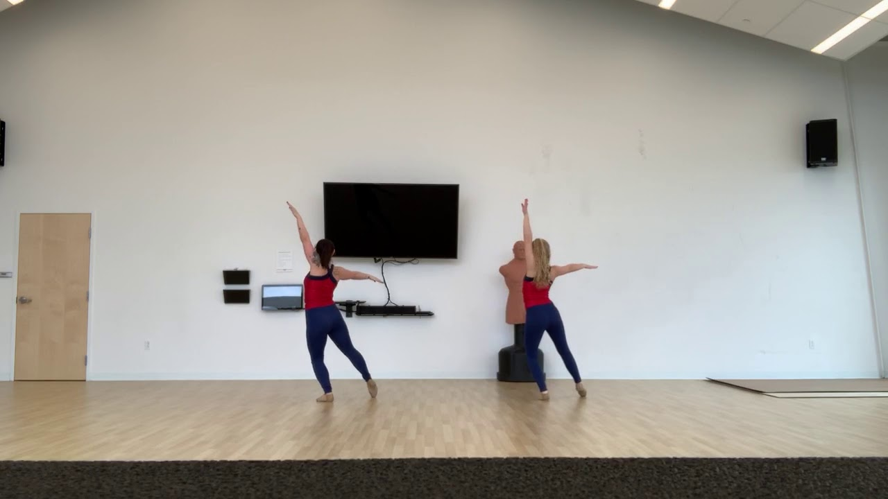 2019 All Auxiliary Auditions Dance - Back