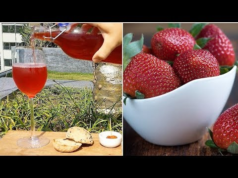 Strawberry Wine how to make it