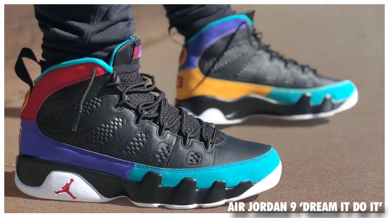 1114e57914d Air Jordan 9 'Dream It Do It' | Detailed Look and Review - WearTesters