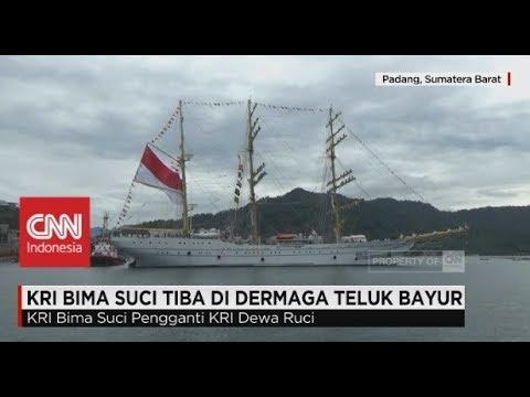 KRI Bima Suci Penerus KRI Dewa Ruci tiba di Indonesia