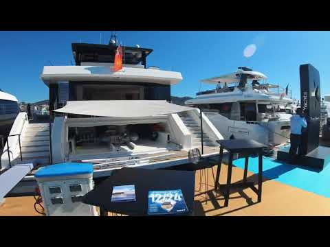 Time Lapse Tour of Multimillion Pound Yachts at Cannes Yachting Festival 2019