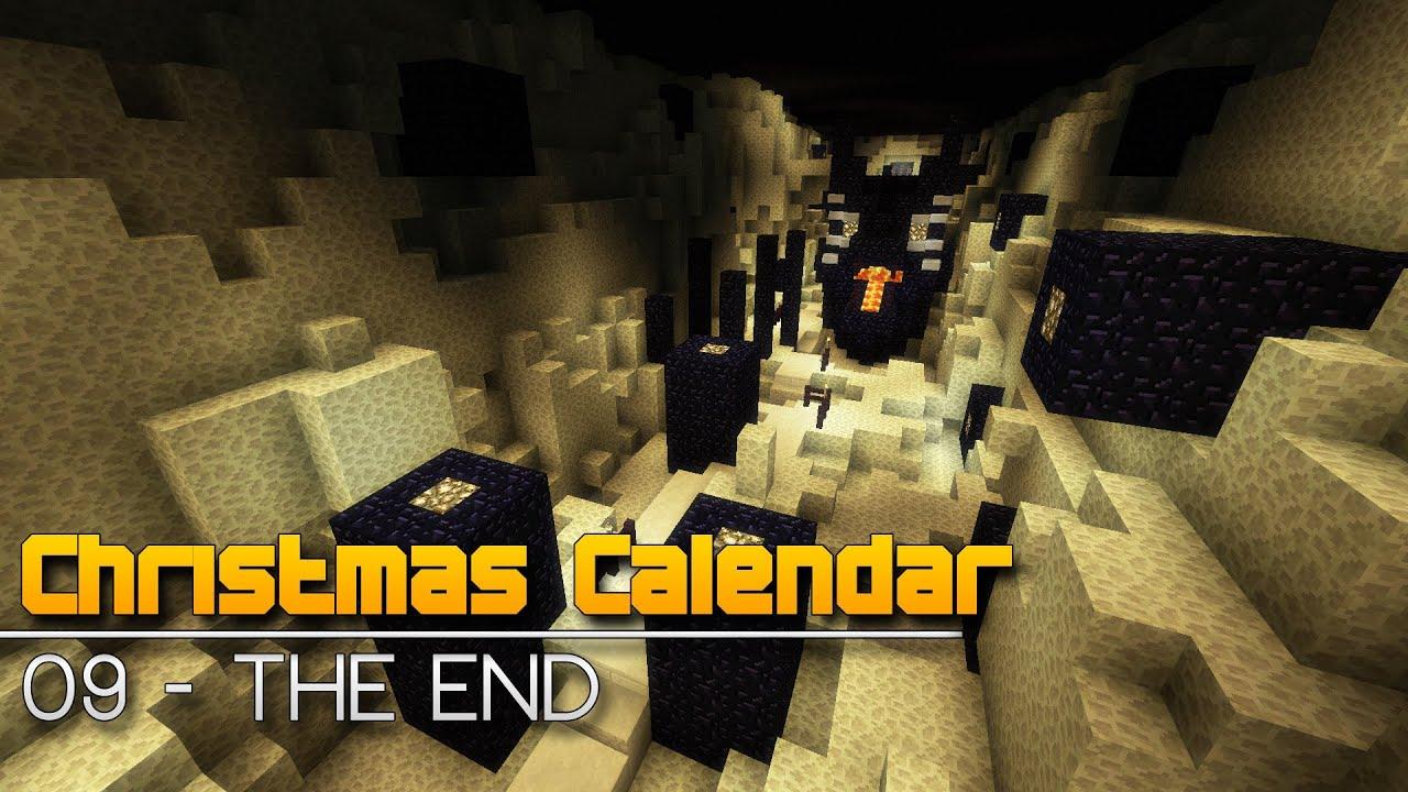 Christmas Calendar Parkour : Christmas calendar the end minecraft parkour map