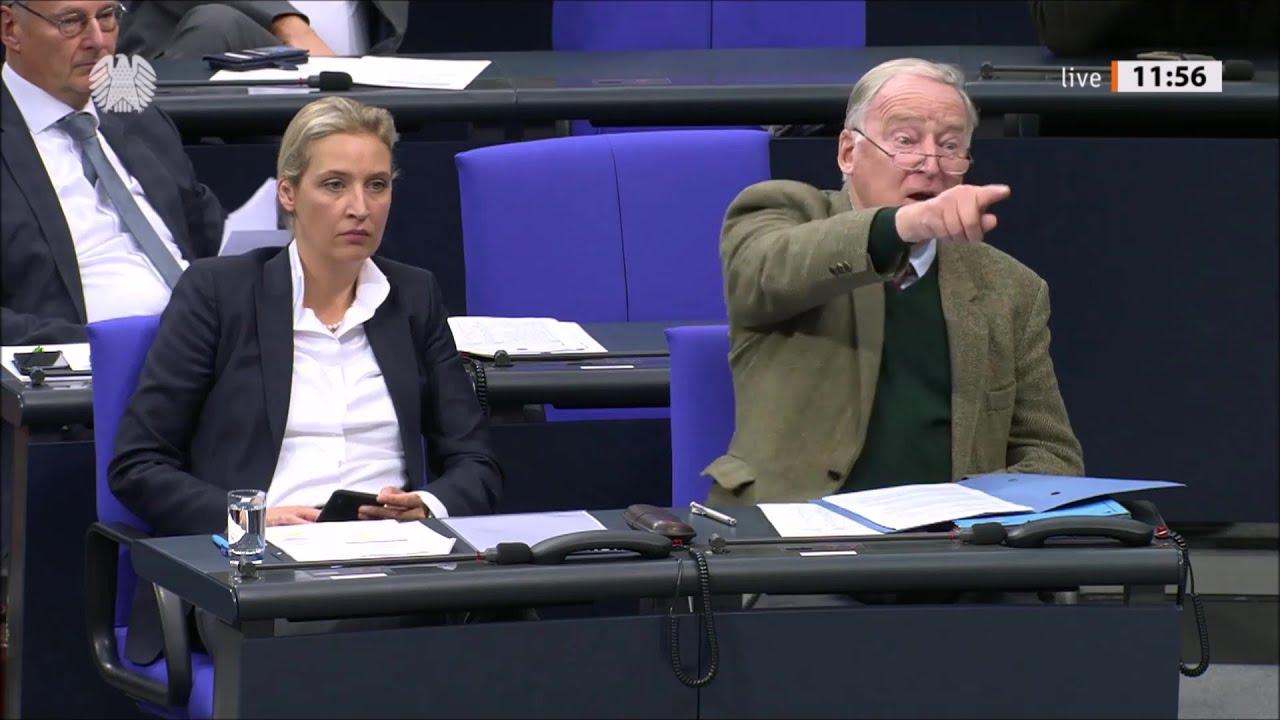Beleidigungen und Eklats im Bundestag