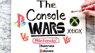 The Console Wars   PlayStation VS Nintendo VS XBOX   What is the best console of all time?