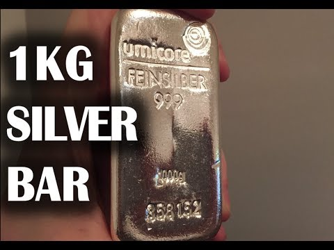 I Bought a 1kg SILVER BAR!