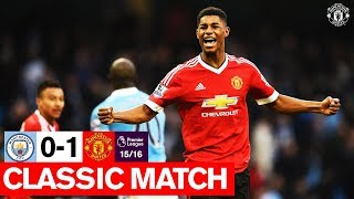 Classic Match (15/16) | Manchester City 0-1 Manchester United | Premier League