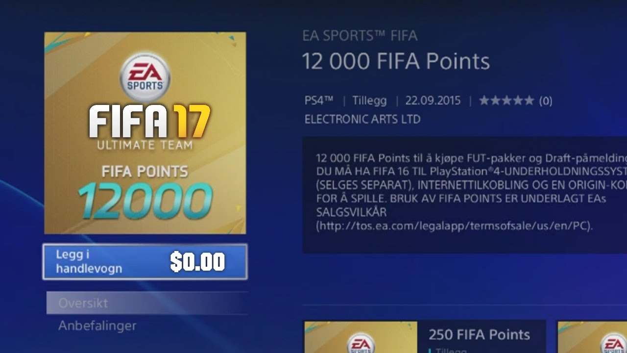 Free 2-day shipping on qualified orders over $35. Buy fifa 17, electronic arts, playstation 4, 014633368710 at walmart. Com.