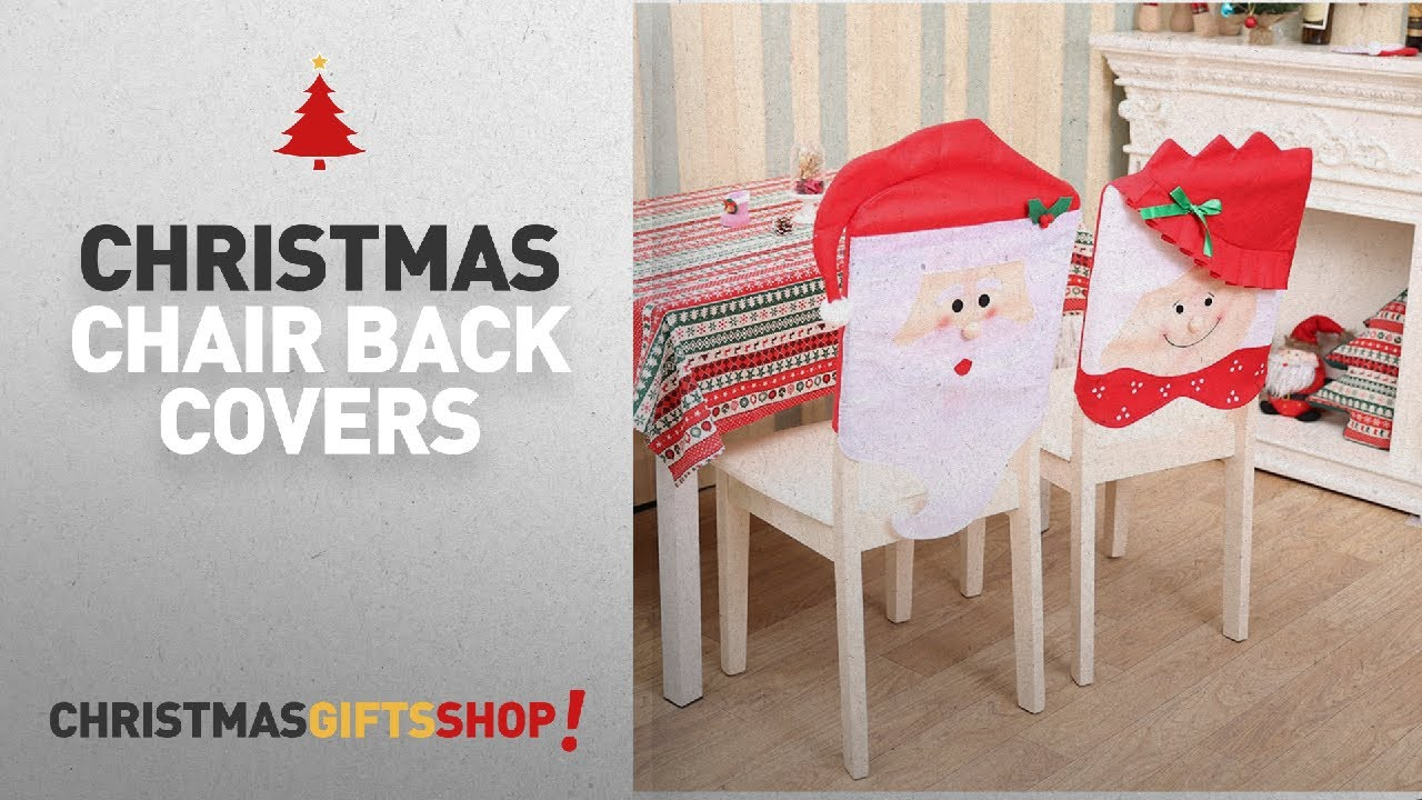 Christmas Chair Back Covers Ideas: Santa Chair Covers, Set