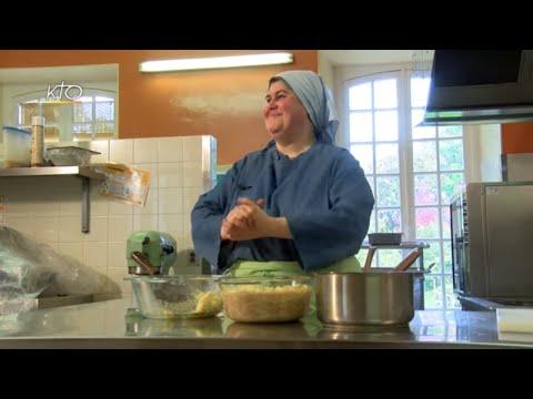 Timbale milanaise et soupe de cerises