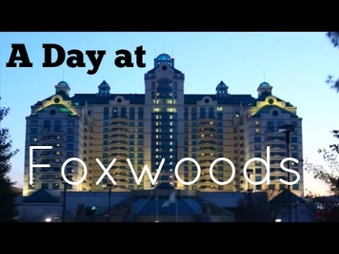 A Day at Foxwoods || FOLLOW ME AROUND AT A CASINO!