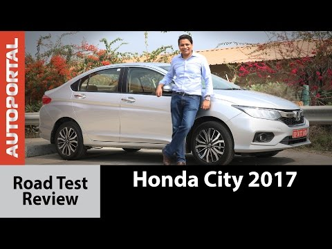 Honda City 2017 Test Drive Review - Autoportal
