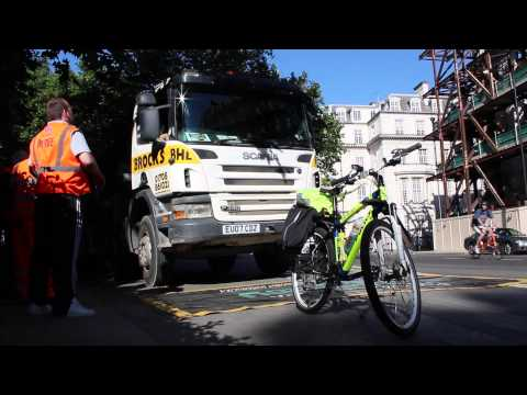 Crossrail Road Safety: Bond Street Exchanging Places Event, June 2014