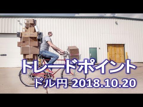 【FX:ドル円 2018.10.20】トレードポイント解説