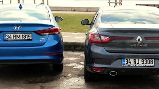 Hyundai Elantra vs Renault Megane Sedan - Karşılaştırma
