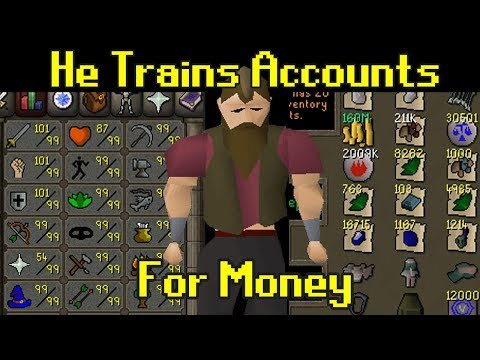 Inside The Black Market Of RuneScape Services