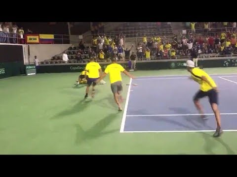 As Colombia beat Brazil at the Davis Cup for the first time in history Mp3