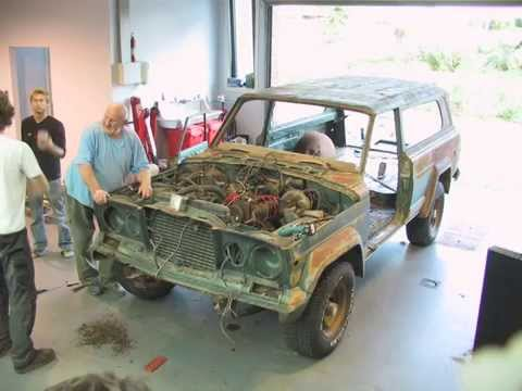 Jeep Cherokee Golden Eagle disassembly - The Jeep Heritage Club
