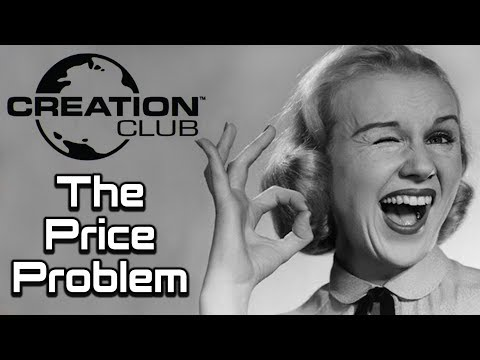 Bethesda's Creation Club: Part 2 | The Price Problem
