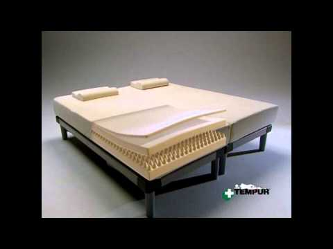 Materassi Tempur.Materasso Tempur Termosensibile Youtube