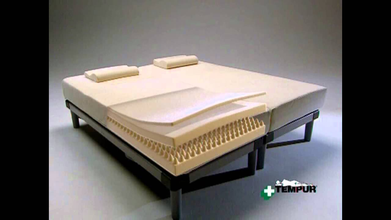 Materasso tempur termosensibile - YouTube