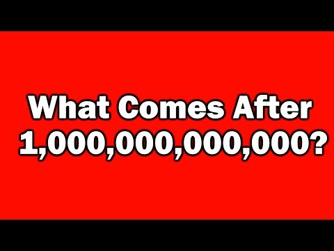 What Comes After Trillion