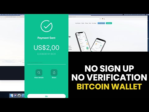 The Best Bitcoin Wallet - No Sign-Up, No ID Needed. Bitcoin.com Wallet Tutorial