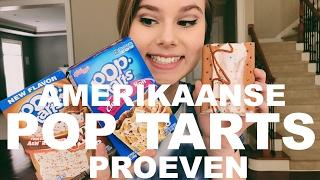 AMERIKAANSE POP TARTS PROEVEN - KOEK ALS ONTBIJT!?