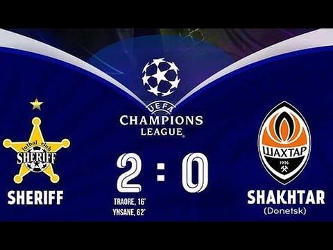 Sheriff Tiraspol Shakhtar Donetsk Goals And Highlights