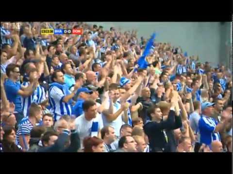 Brighton vs Doncaster 06/08/2011 |  1st Game at AMEX Stadium