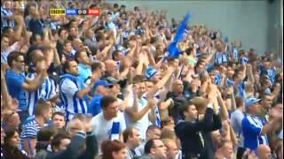Brighton vs Doncaster 06/08/2011    1st Game at AMEX Stadium