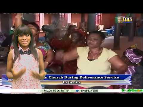Female Pastor Murders Man In Church During Deliverance Service In Benin- Deliverance Of Death
