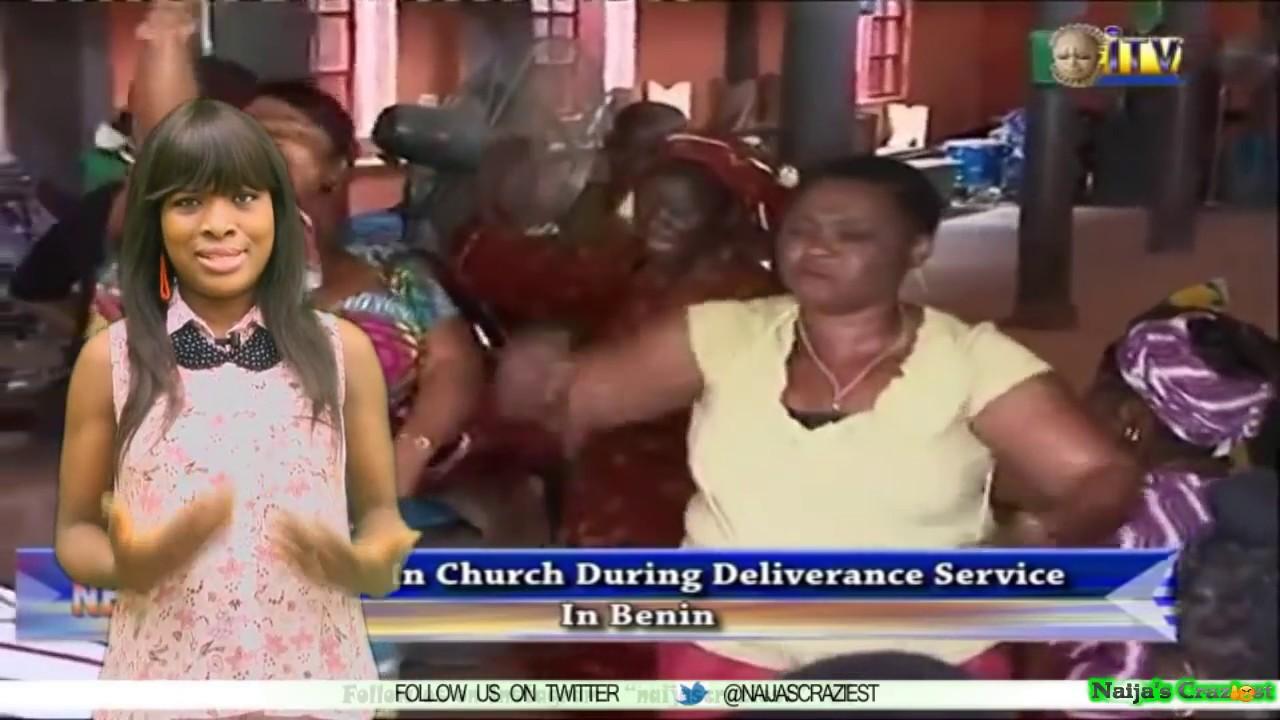 Download Female Pastor Kill Man In Church During Deliverance Service In Benin- Deliverance Of Death