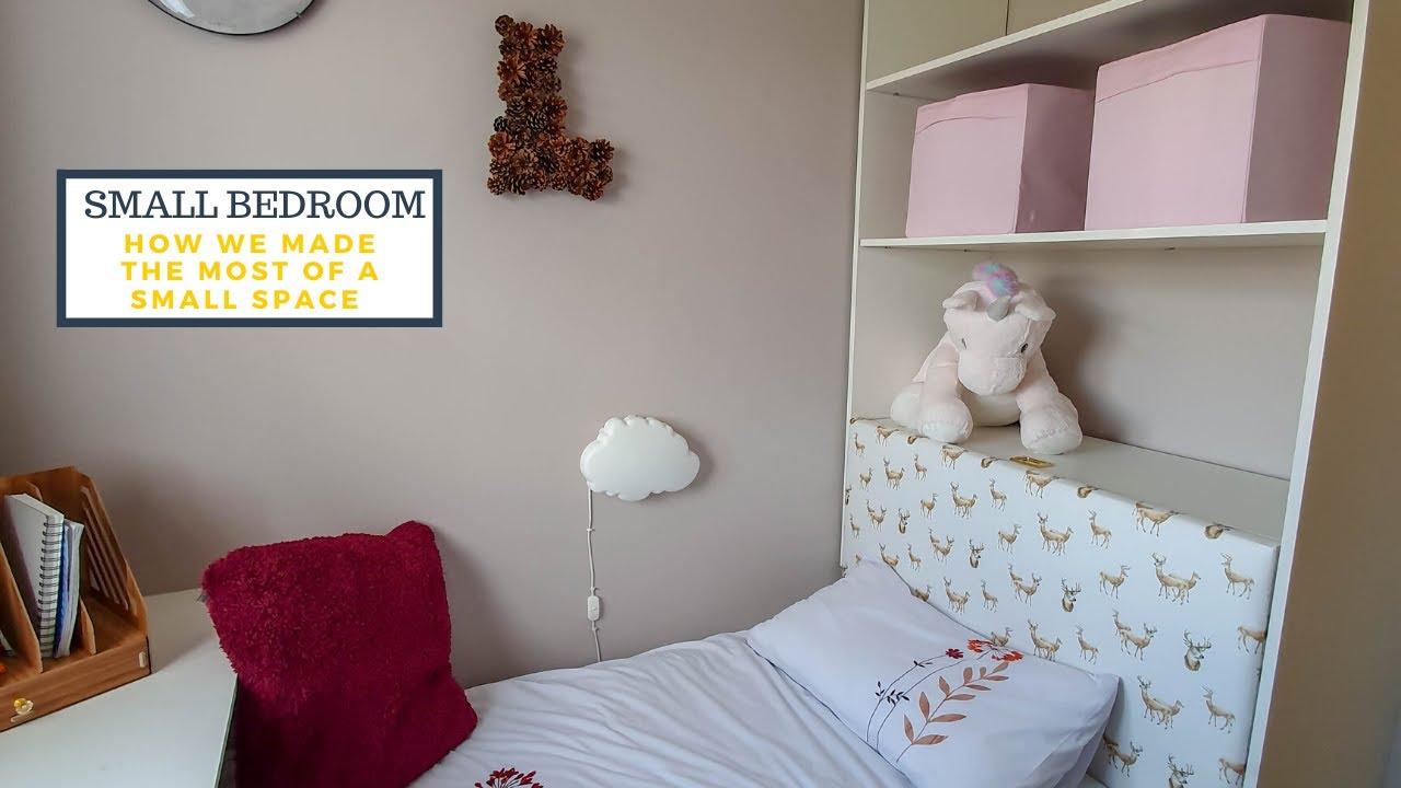Small Bedroom Tour - Box Bedroom Storage Ideas