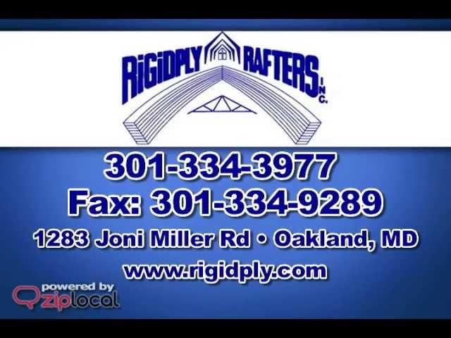 Rigidply Rafters - (301) 334-3977
