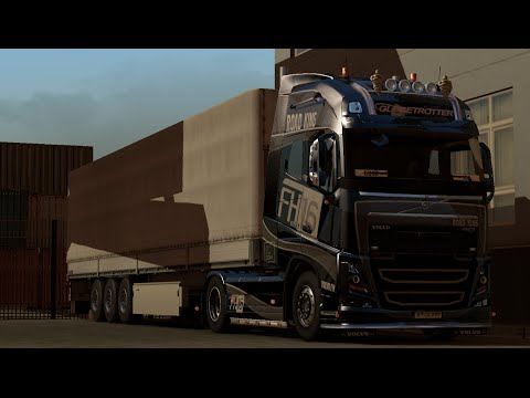 "ETS2"" my truck volvo fh16 GOOD JOB"""
