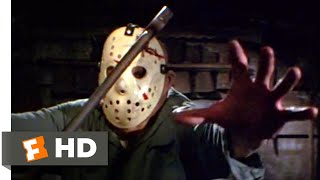 Friday the 13th Part 3 - Axing Jason Scene (9/10) | Movieclips