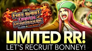 THE MOST INSANE 30-GEM MULTI! Limited RR Bonney Summons! (One Piece Treasure Cruise - Global)