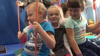 В детском саду «Росинка» появился уникальный сенсорно-динамический комплекс