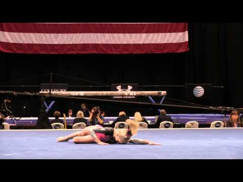 Abigail Walker – Floor Exercise – 2015 P&G Championships – Jr. Women Day 1