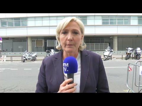 """Londres: Marine Le Pen affirme avoir """"réclamé la tenue d'un Yalta du contre-terrorisme"""""""