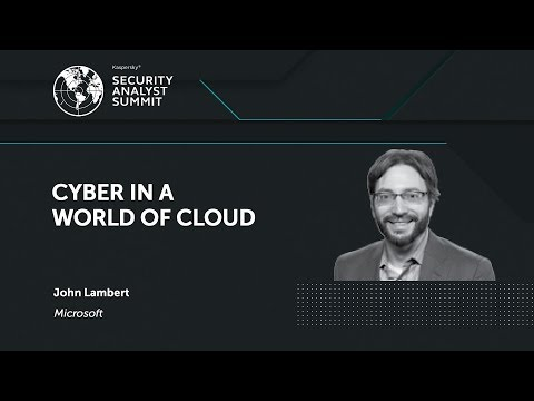 CYBER IN A WORLD OF CLOUD