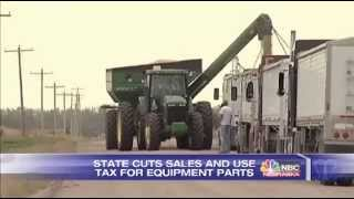 Nebraska Drops Taxes on Farm Equipment Parts / October 6, 2014