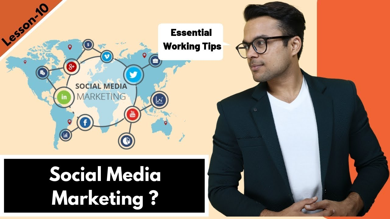 Lesson-9: How to start Social media marketing – (5 working tips for beginners) | Ankur Aggarwal image