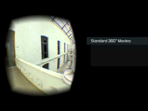 PRESENZ - Interactive Parallax in 360° CG Movies