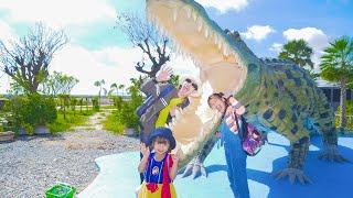 Nora, Kevin and Uncle Go for A Trip Jet Garden Resort 7NG Natural World